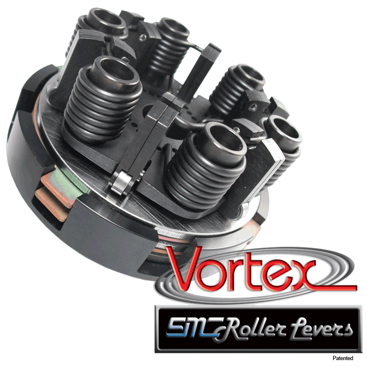SMC Vortex Black 2 Disc Clutch