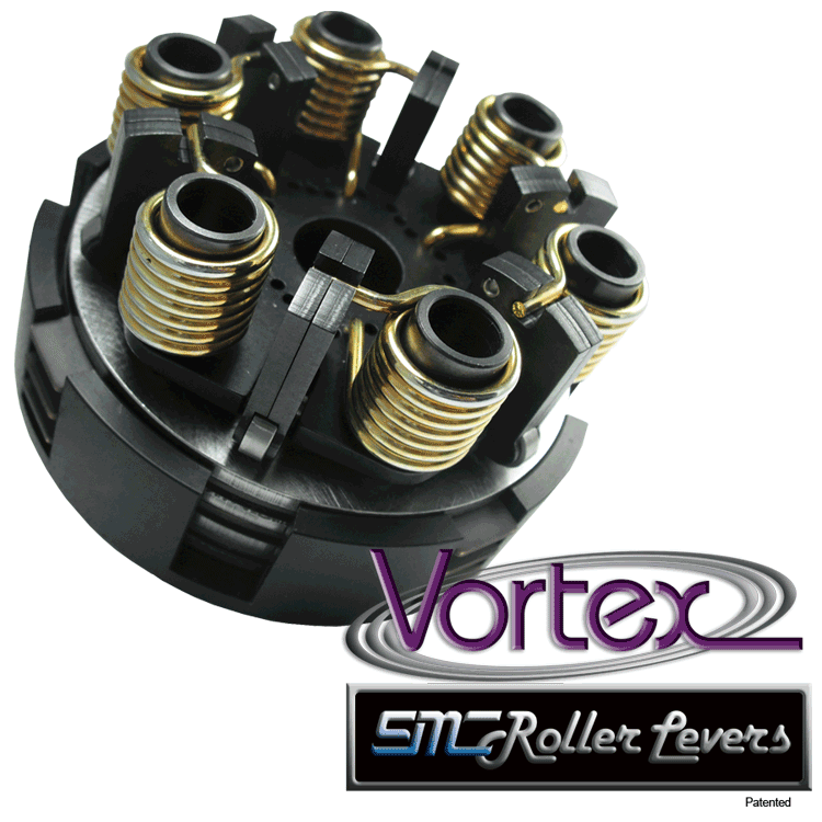 SMC Vortex Black Three Disc Clutch