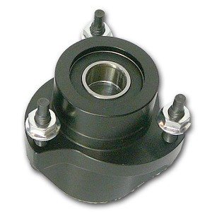 JEX Front Wheel Hub w/ Ceramic Bearings 5/8x3/4