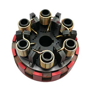 SMC Vortex Red Three Disc Kart Racing Clutch