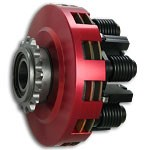 SMC Vortex Red Two Disc Clutch